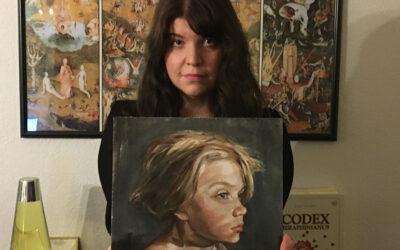 Ammattilaissarjan yleisöäänestyksen voittaja Sini Somppi maalasi poikansa mielenmaiseman yhden iltapäivän aikana
