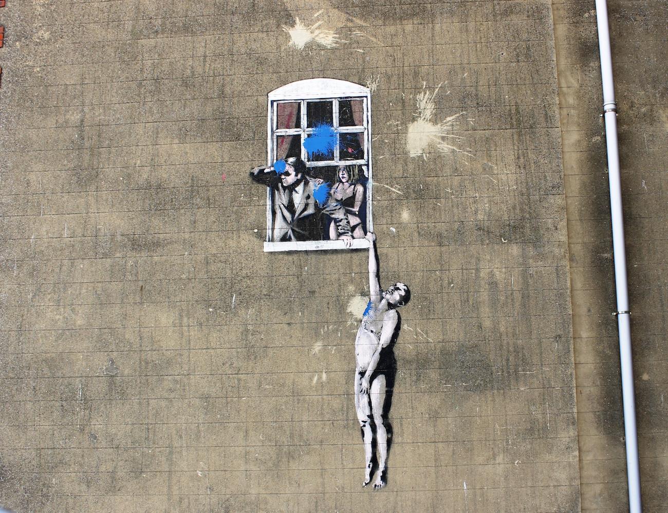 1 Banksy hanging man 2