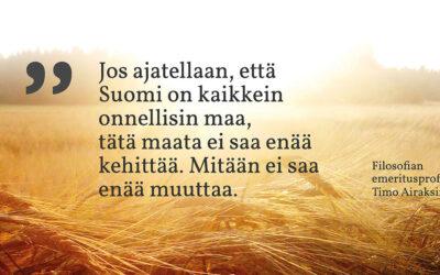 Sunnuntaisitaatti #17: Timo Airaksinen