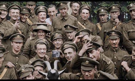 Peter Jacksonin elokuva näyttää ensimmäisen maailmansodan lapsisotilaat väreissä, kuin äsken nähtyinä