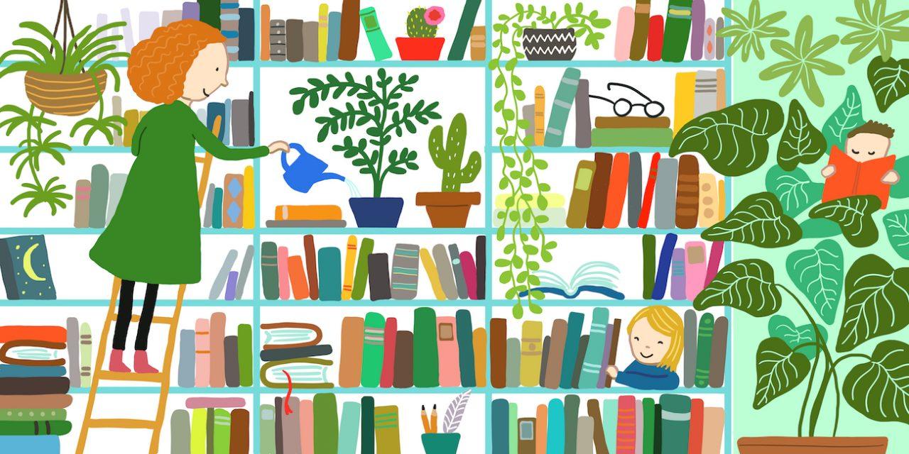 Palindromiruno 1: Kirjaston sivistävä vaikutus