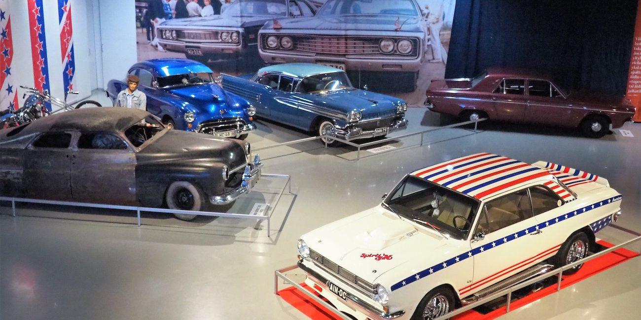 Kun presidentit olivat kekkosia ja autot wartburgeja – tästä aikakaudesta kertoo Mobilian näyttely