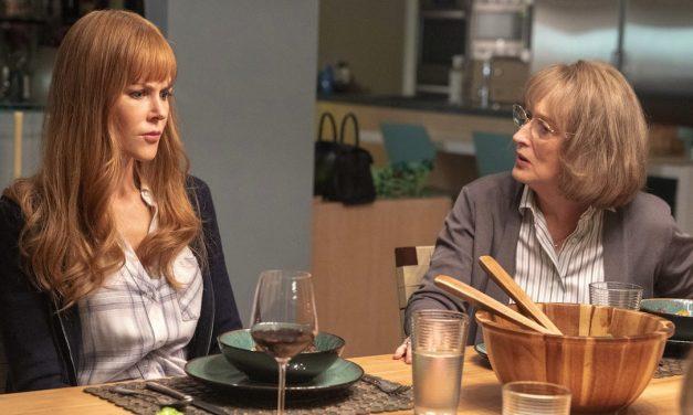 Meryl Streep heittäytyy mukaan Big Little Lies -sarjan pyörteisiin – HBO-sarjan toinen kausi alkoi