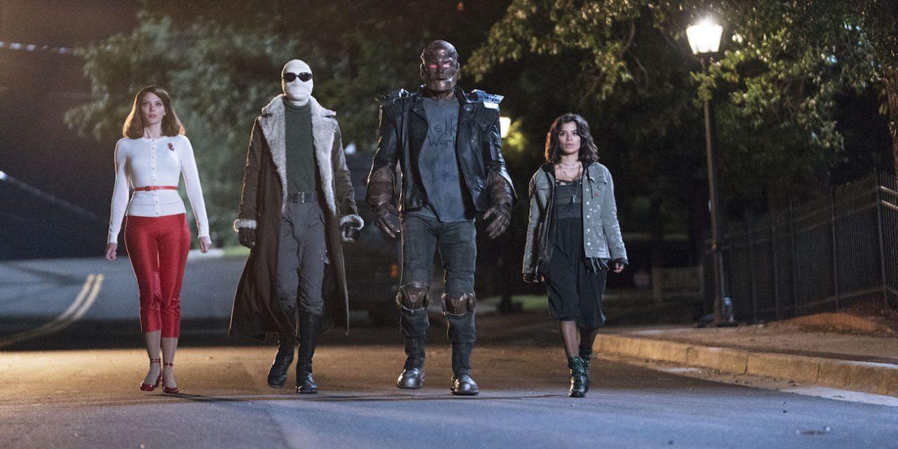 Doom Patrolin supersankareille on tärkeämpää antaa itselleen anteeksi kuin kurmoottaa pahiksia