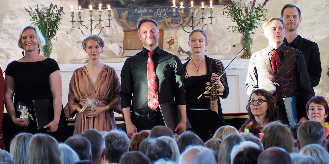 Kuningas lähti Sastamalaan – Fuoco e Cenere ja Sastamala Gregoriana Consort Pyhän Marian kirkossa