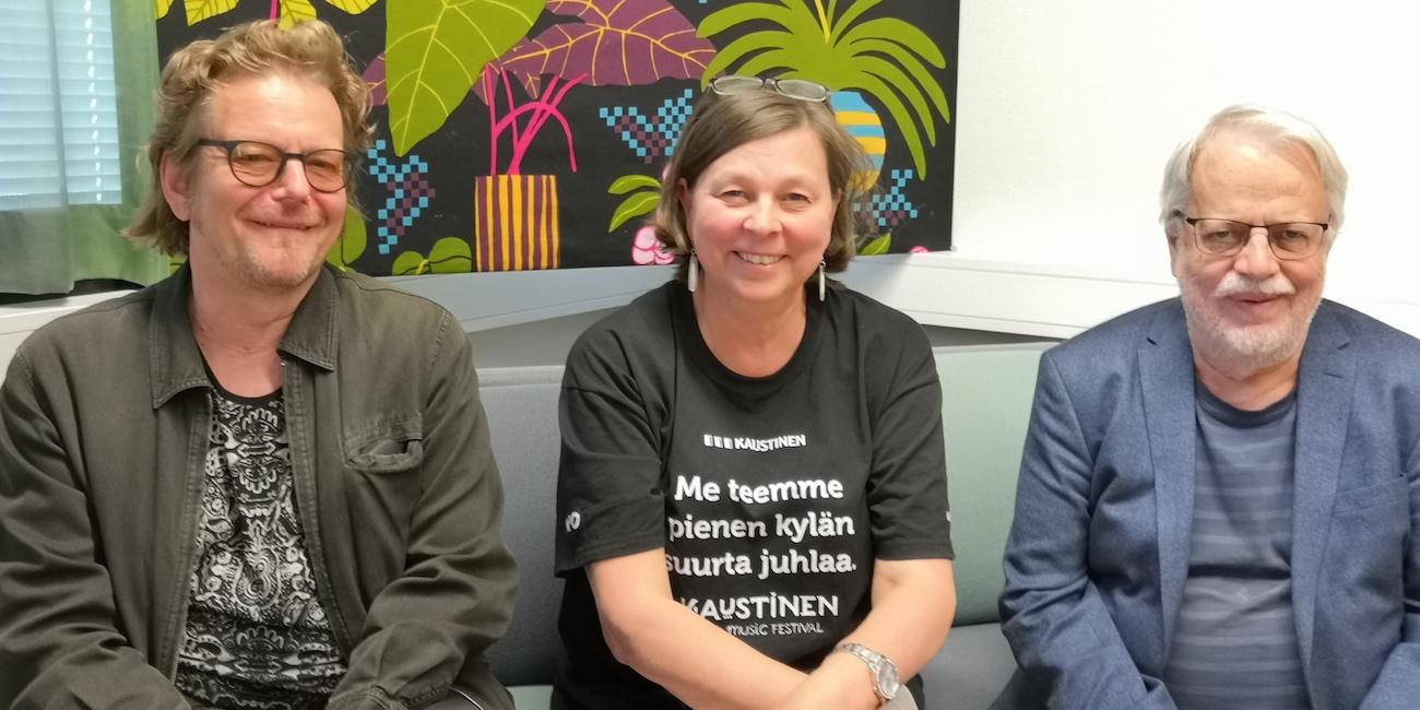 Kulttuuritoimituksen virallinen podcast #5: vieraina Heikki Laitinen ja Hannu Saha