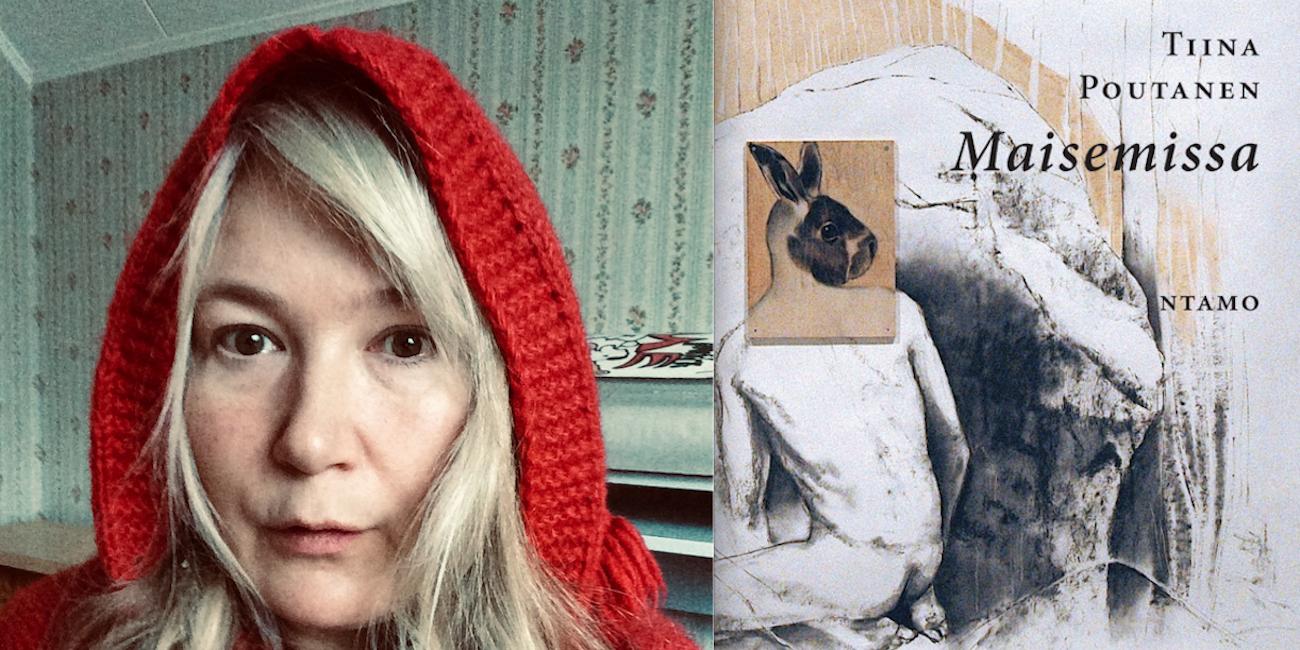 Proosarunoilija Tiina Poutanen tutkii uudessa Maisemissa-teoksessaan ihmisen asemaa maiseman osana