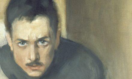 Introvertti ihmispelkoinen taiteelleen omistautunut estynyt piinattu Einar Ilmoni elää – taiteessaan