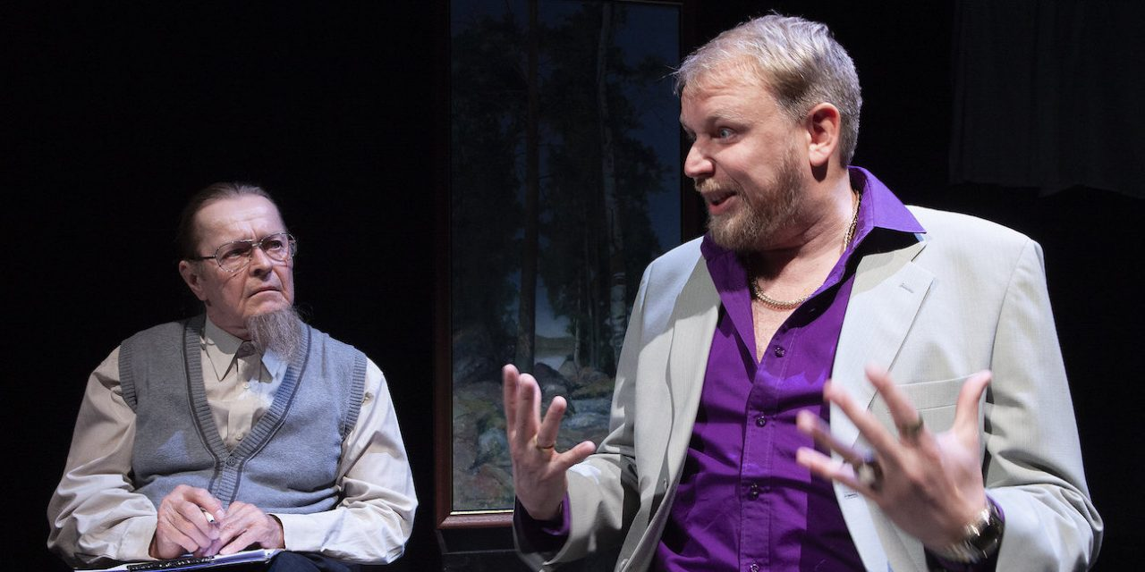 Taidekauppiashuijarin tarina kiinnostaa – arvostelussa Komediateatterin uutuusnäytelmä Vilpitön mieli