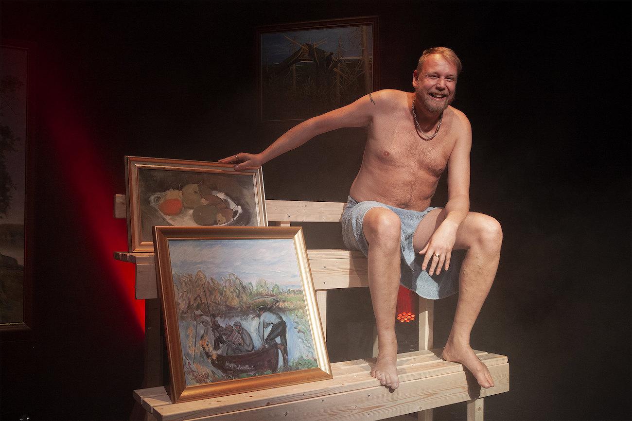 Taidekauppias Jouni Rantaa esittää Jani Karvinen.