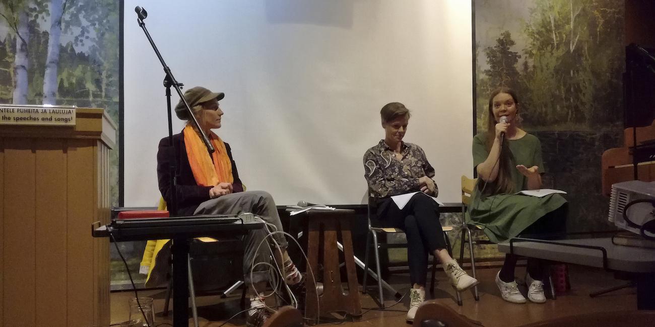 Palkittu saksalaiskirjailija vieraili Tampereella – Antje Rávik Strubel kirjoittaa uusinta romaaniaan Suomessa
