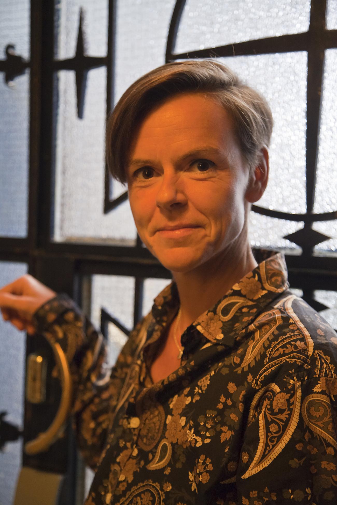 Kirjailija Antje Rávik Strubel Hotelli Tammerissa.