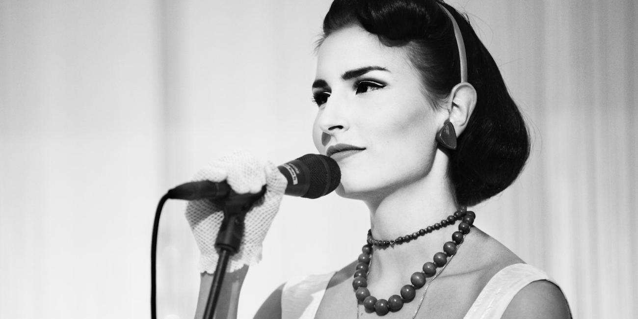 Laulaja Maria Lund.