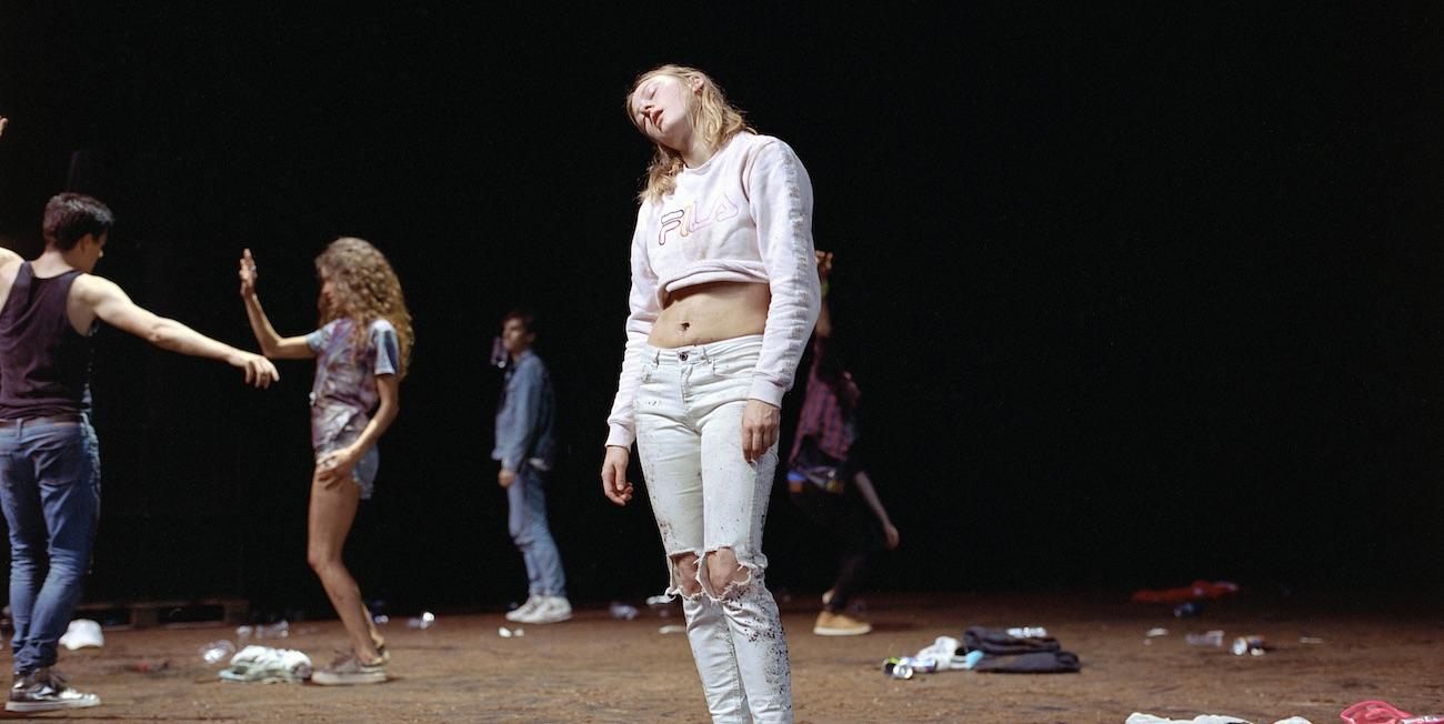 Kuva Gisele Viennen tanssiesityksestä Crowd.