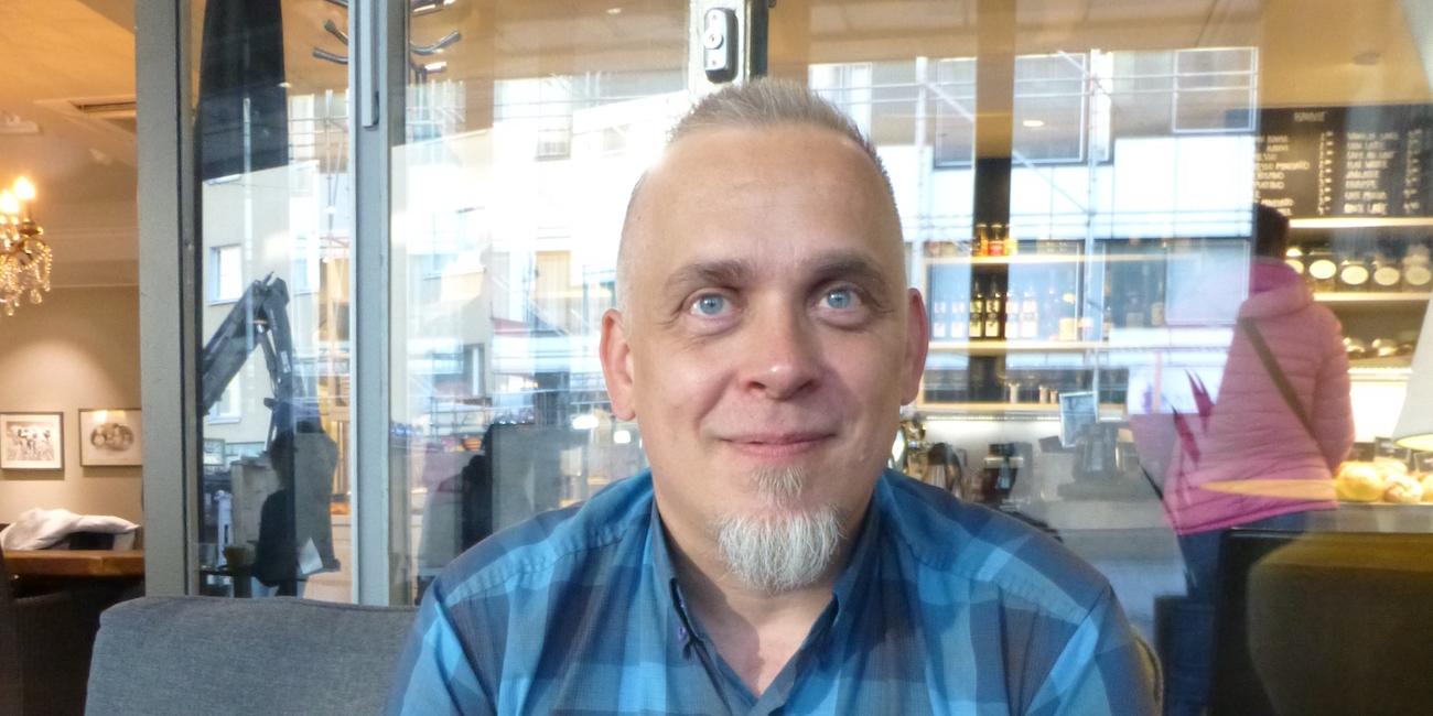 Kustantaja Marko Vesterbacka.