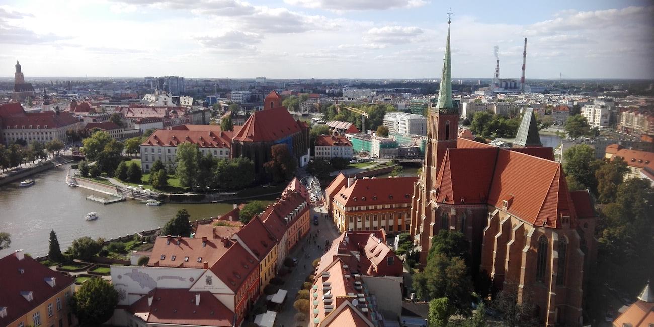Kaupunki kuin karamelli – Wrocławiin rakastuu ensisilmäyksellä