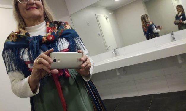 Kulttuuritoimituksesta päivää! Aila-Liisa Laurila