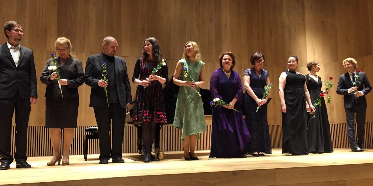 Majaoja-liedkilpailun voittajateokset soivat sulassa sovussa virolaisten laulujen kanssa