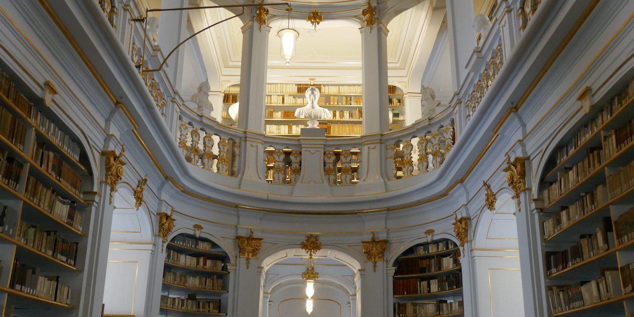 Anna Amalian kirjasto.