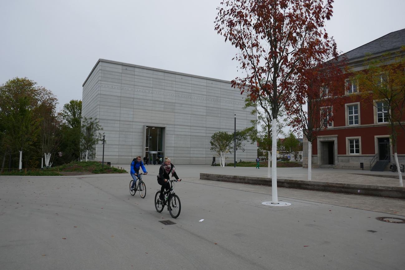 Bauhaus-museo Weimarissa.