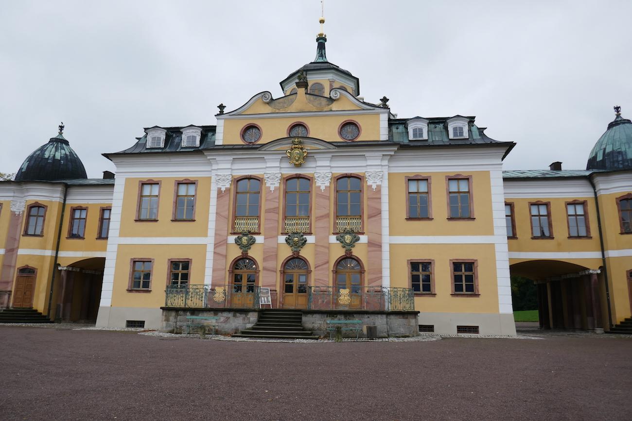 Belvederen barokkipalatsi.
