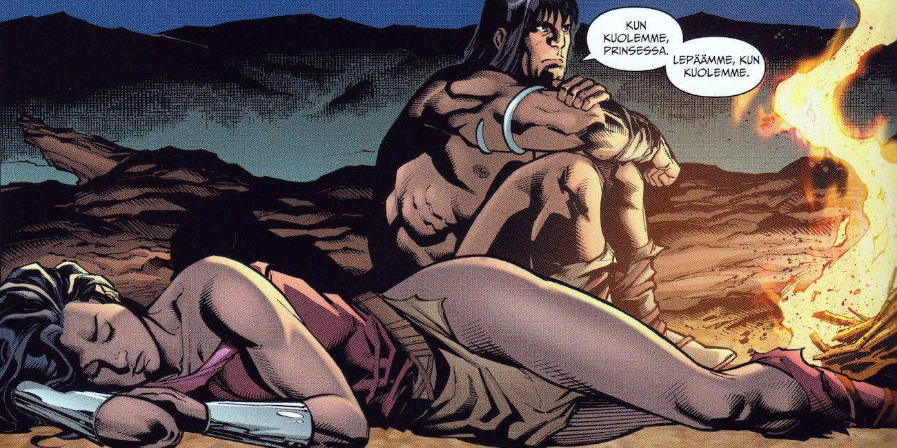 Ihmenaisen maalauksellinen syntytarina ja seikkailu Conan Barbaarin kanssa – vihdoin suomeksi