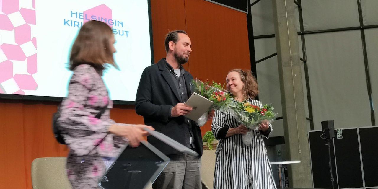 Palkintosadetta kirjamessuilla: kirjafestivaali Helsinki Lit nousi tuoreeltaan kansainväliselle tasolle