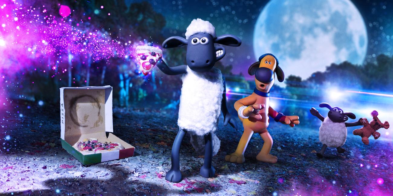 Kohtaus Late Lammas -elokuvasta Farmageddon.