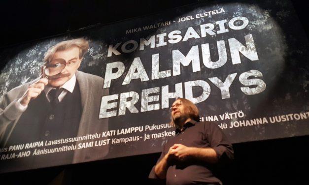 Komisario Palmu ratkoo pian murhamysteeriä Seinäjoen kaupunginteatterin lavalla