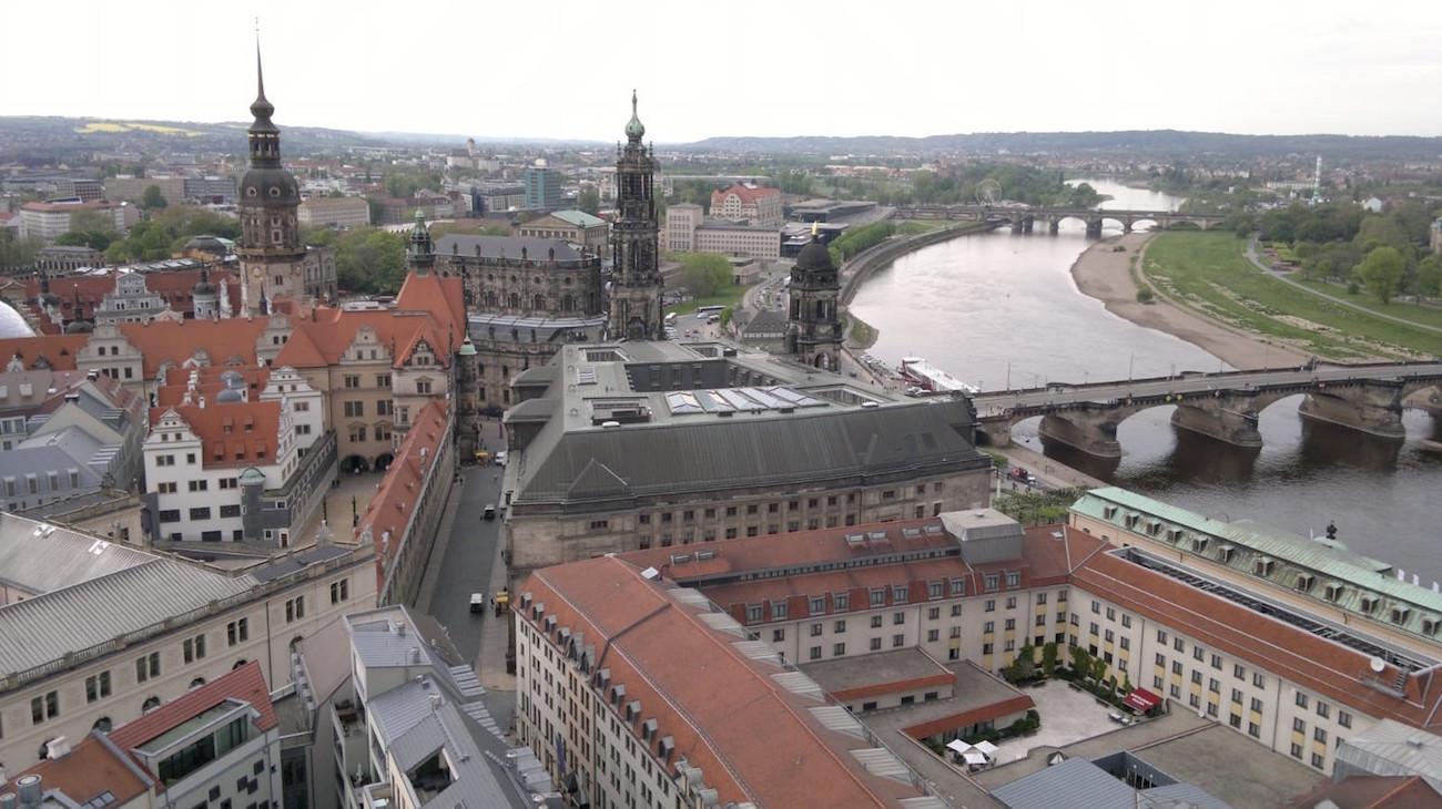 Dresden näkymä