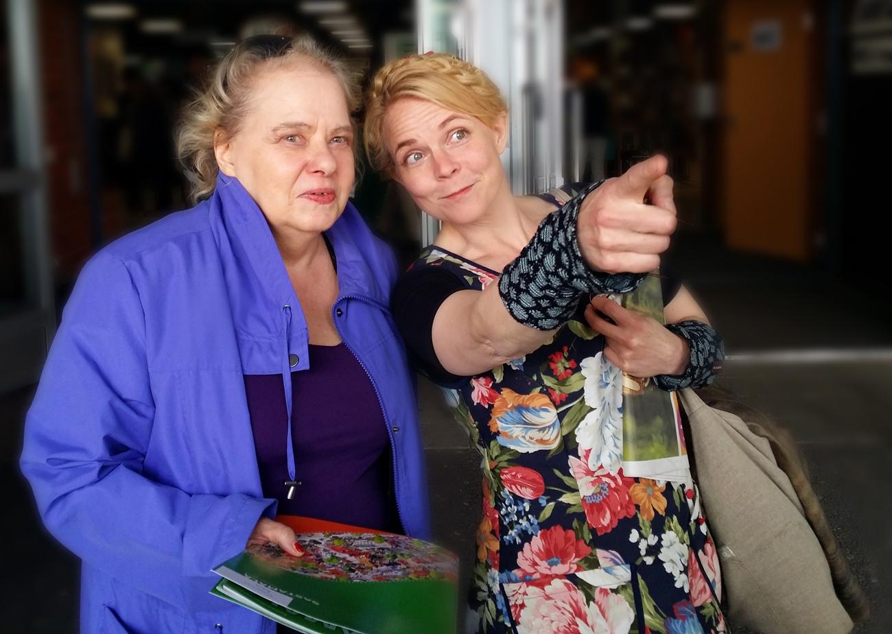 Kulttuuripotretit #26: Arja Tiainen ja Heli Laaksonen