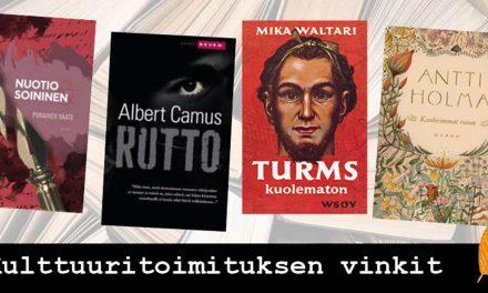 Kirjastot sulkeutuvat, mutta lukeminen ei lakkaa – fiktiokirjoja joita jokaisen kannattaisi lukea