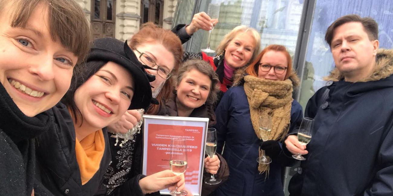 Kulttuuritoimitus on Vuoden kulttuuriteko – oman tiensä kulkija on tavoittanut jo yli 250000 suomalaista