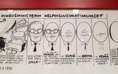 Kari Suomalainen piirsi, mutta ihan mitä hyvänsä rasistista väitettä ei sentään Hesarikaan sietänyt