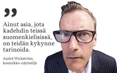 Sunnuntaisitaatti #22: André Wickström