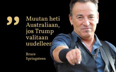 Sunnuntaisitaatti #23: Bruce Springsteen