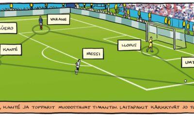 Jalkapallon lyhyt oppimäärä on varsin kattava – arviossa kotimainen tietokirja Jalkapallotaktiikat