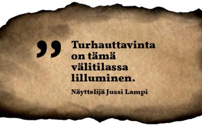 Sunnuntaisitaatti #36: Jussi Lampi