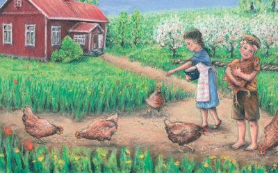 Mitä ovat rotinat, kulitsa ja sielulintu? Lastenkirja kertoo sotia edeltävästä Karjalasta