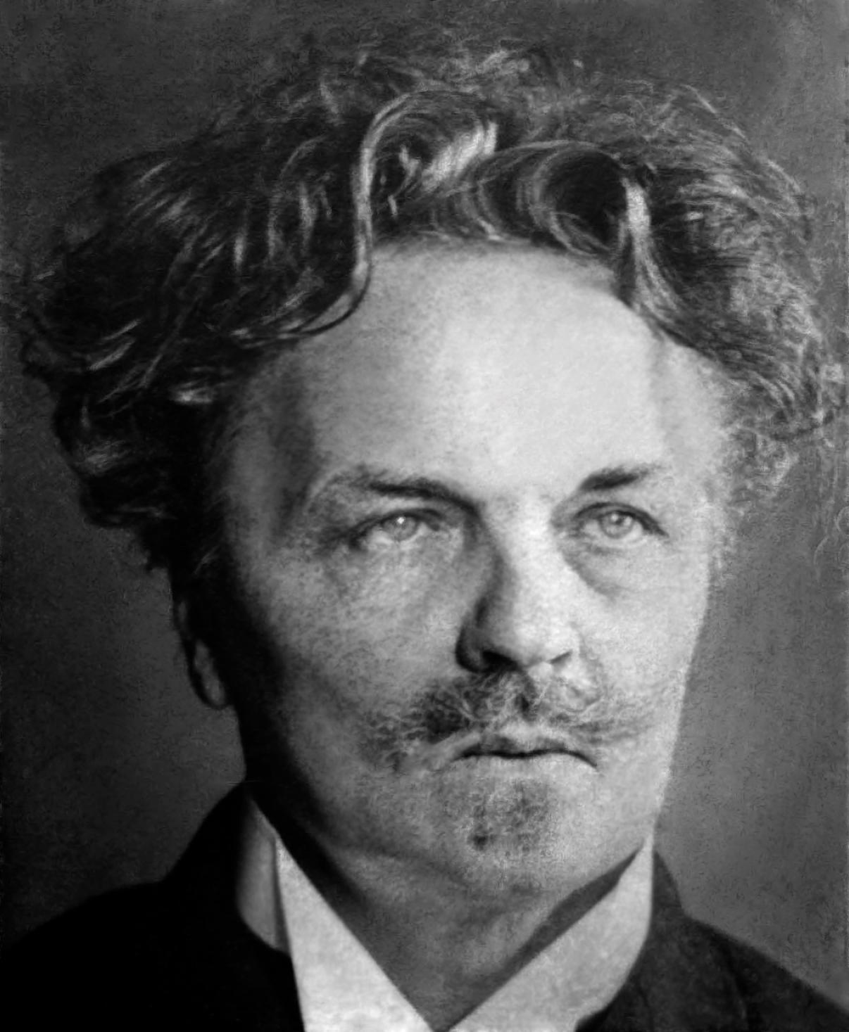 August Strindberg. Självporträtt Nordiska Museet NMA.0035681