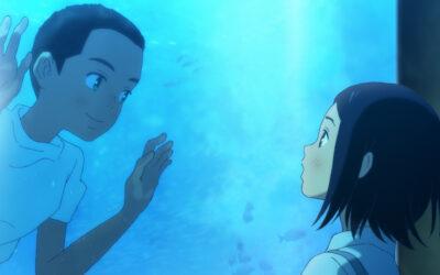 Kauniissa japanilaisanimessa nuori tyttö kohtaa mystiset veljekset ja sukeltaa meren aaltoihin