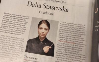 Parasta juuri nyt (4.9.2020): Dalia Stasevska, Svetlana Tsihanouskaja, Sanna Marin, Eeva Ruotsalainen, Ondine