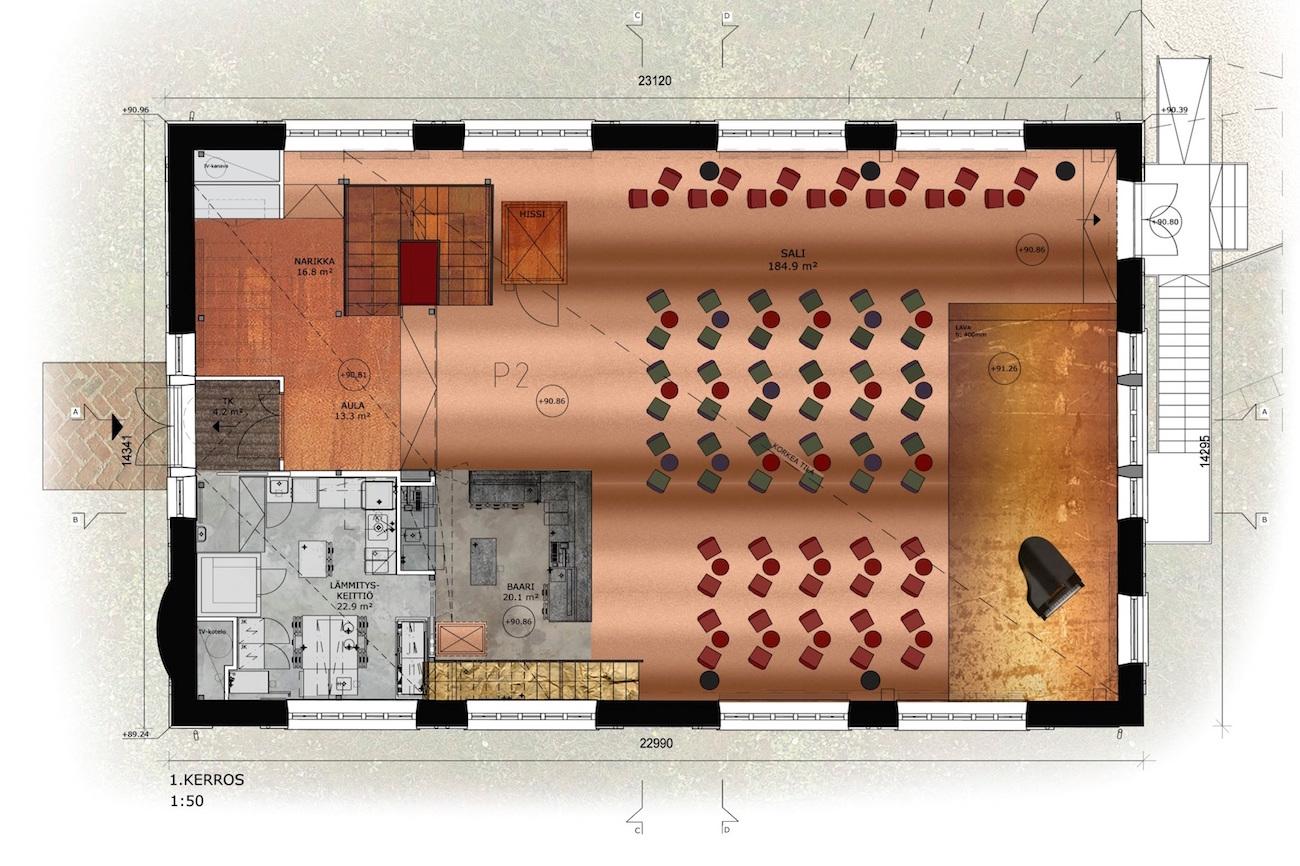 G Livelab Tampere floor plan
