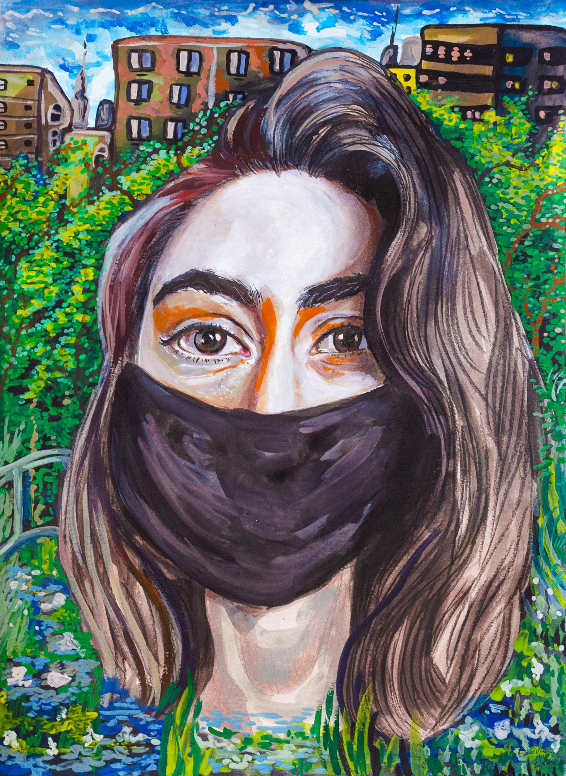 Gabriella Presnal Mask On by Gabriella Presnal