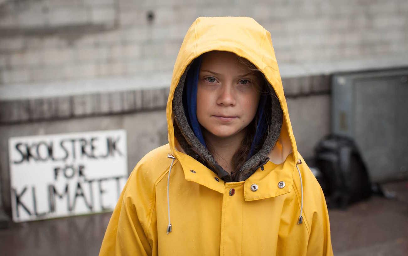 Greta Skolstrejk för klimatet