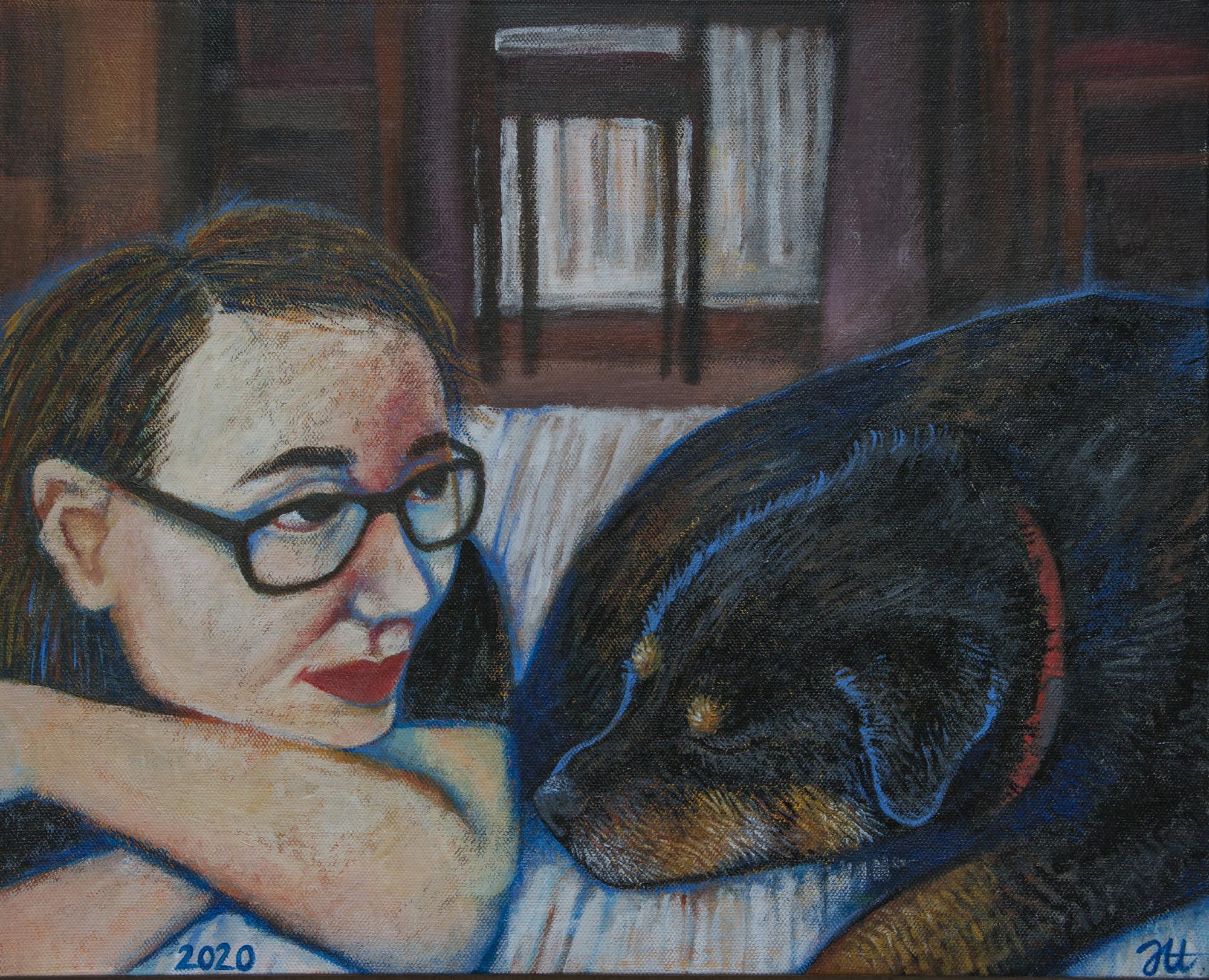 Josefiina Heimovirta mina ja hunde