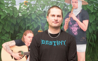 Vuoden nuori taiteilija 2021 Joel Slotte kuvaa itseään nörtiksi, joka ei pysty valitsemaan mielenkiintonsa kohteita