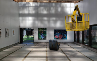 Purnun kesänäyttely tarkastelee taiteen pintailmiöitä ja niiden yhteensopivuuksia ympäröivään miljööseen