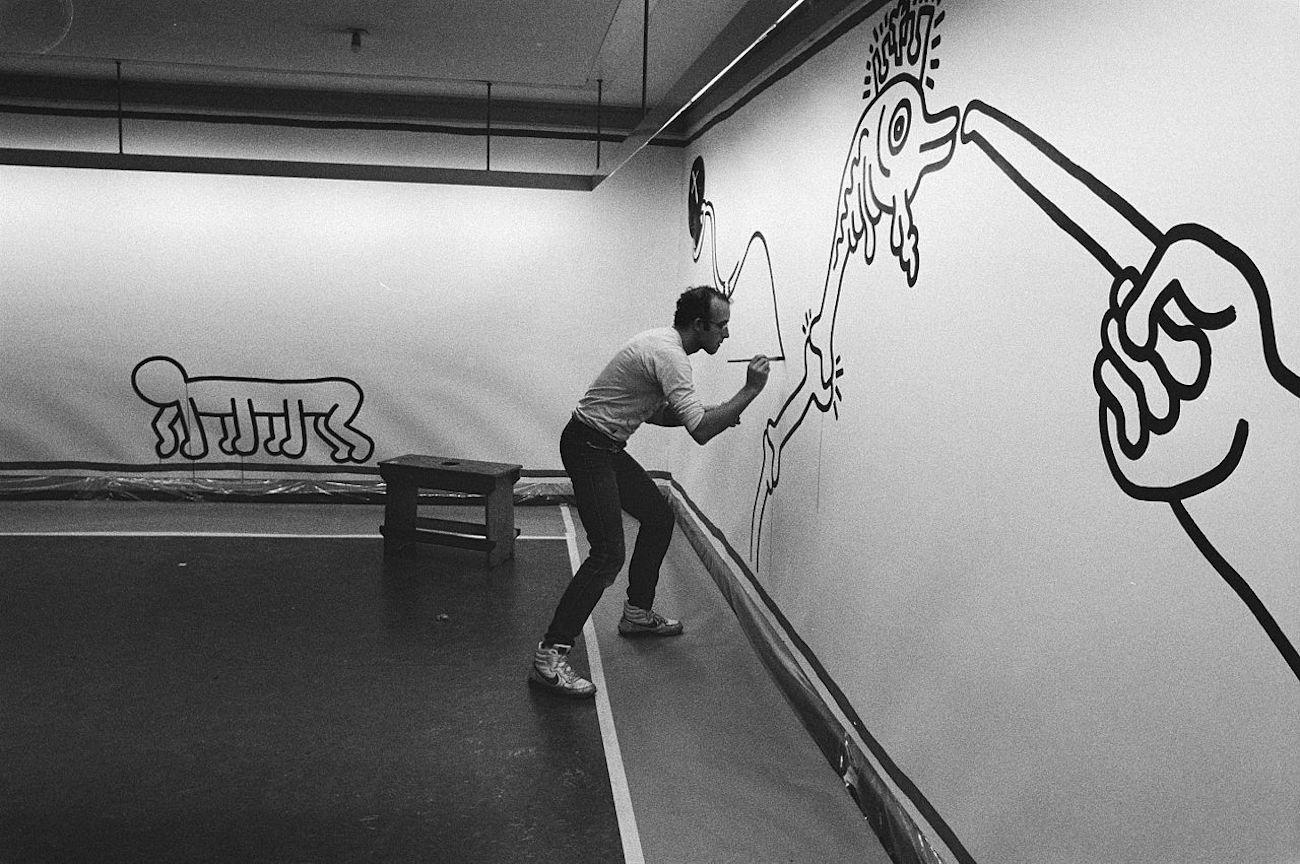 Keith Haring 1986 original