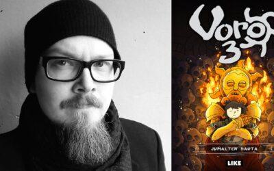 Janne Kukkosen fantasiatrilogian päätös hipoo täydellisyyttä – arviossa kolmas Voro-sarjakuvaromaani